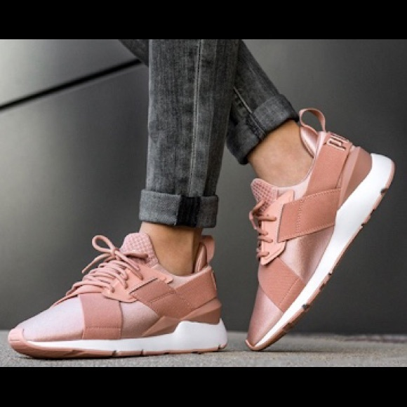 Puma Shoes | Muse Satin Ep Wns | Poshmark